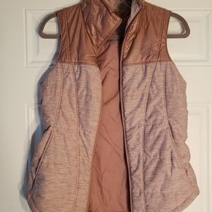 Puffy North Face vest